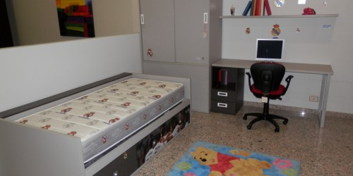 Dormitorio Infantil Real Madrid 049 – 010145