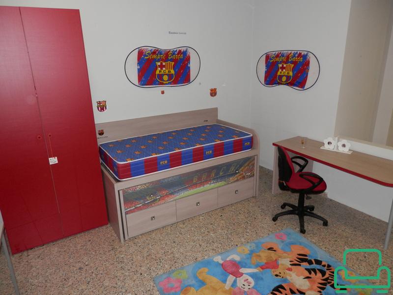 Dormitorio infantil f c barcelona 047 010141 muebles outlet las palmas - Muebles infantiles barcelona ...