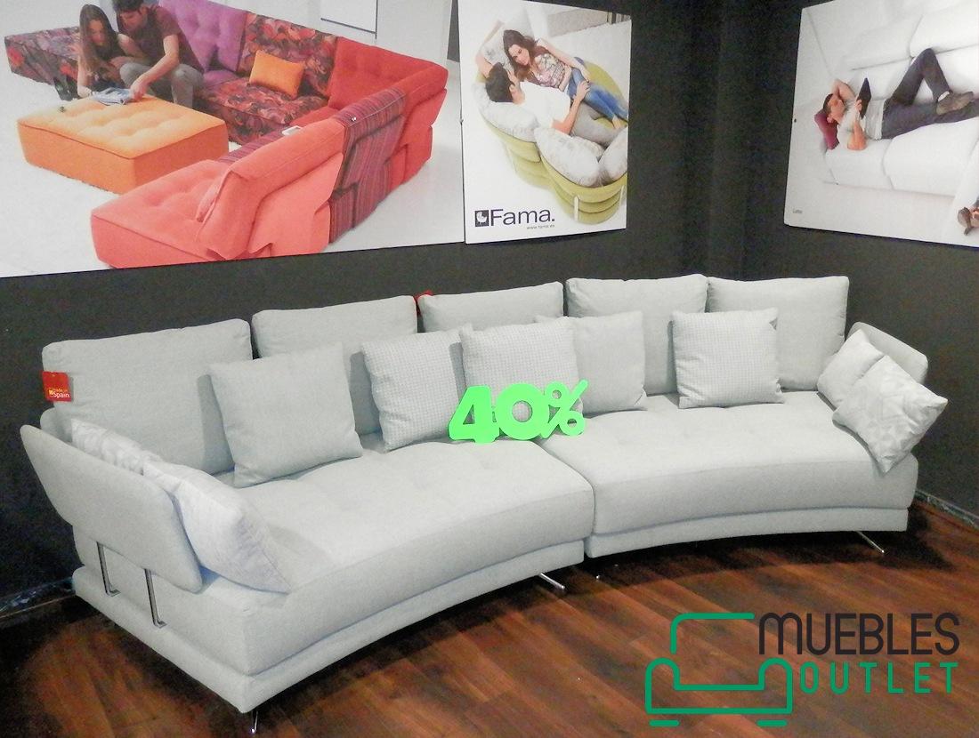 Liquidaci n de sof s y sillones muebles outlet las palmas for Sofas en u precios