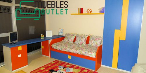 Dormitorio juvenil Outlet- 379378